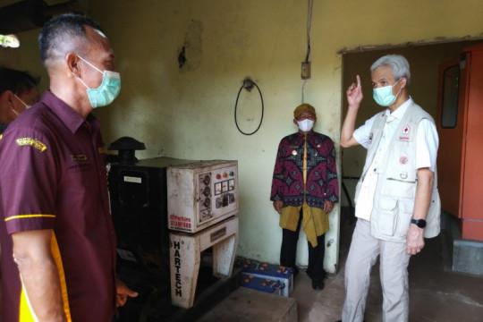 Ganjar temukan ratusan baterai PLTS di Karimunjawa rusak