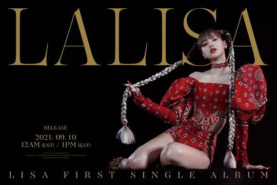 """Lisa BLACKPINK tampil keren dalam debut solonya lewat """"LALISA"""""""
