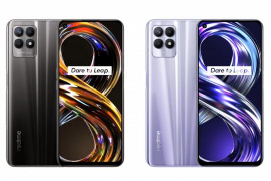 Realme 8i diluncurkan dengan layar 120Hz dan kamera 50MP