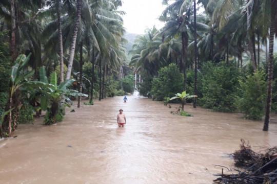 800 kepala keluarga terkena dampak banjir Bolaang Mongondow Selatan