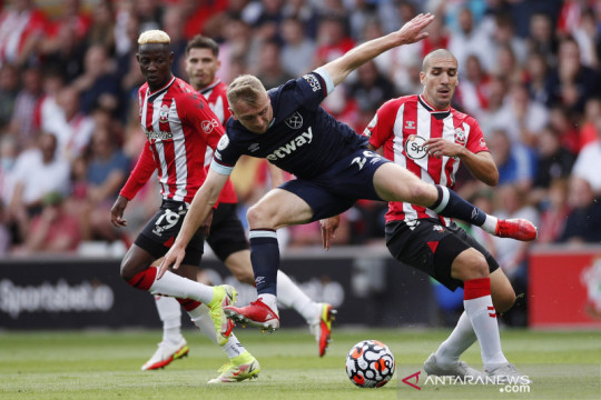 Liga Inggris : Southampton vs West Ham United