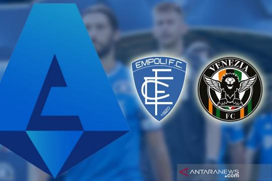 Venezia menangi duel tim promosi kontra Empoli