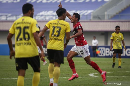 Liga 1 : Bali United menang atas Barito Putra