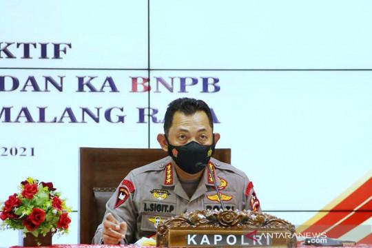 Kapolri ingatkan jajaran pimpinan di Malang potensi lonjakan wisatawan