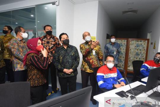 Erick Thohir minta Pertamina terus kembangkan R&D digitalisasi