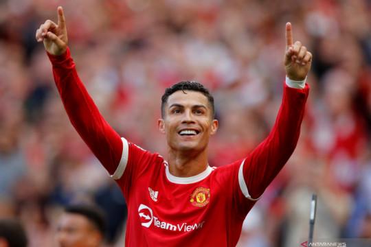 Soal debut keduanya di MU, Cristiano Ronaldo: saya sangat gugup