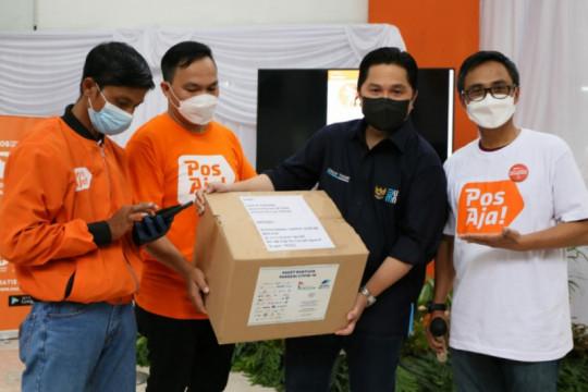 Erick Thohir apresiasi PT Pos Indonesia transformasi digital