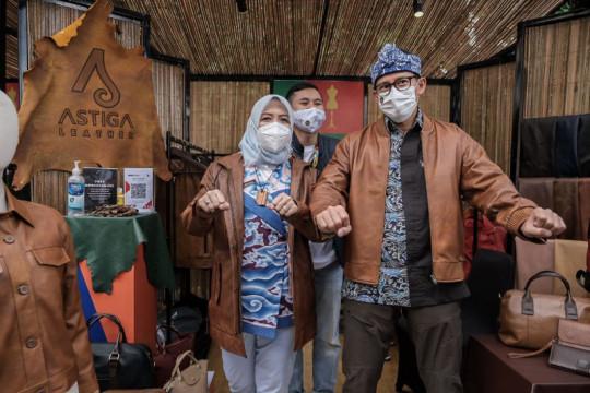 Sandiaga dorong pelaku ekraf Bandung tingkatkan karya melalui AKI