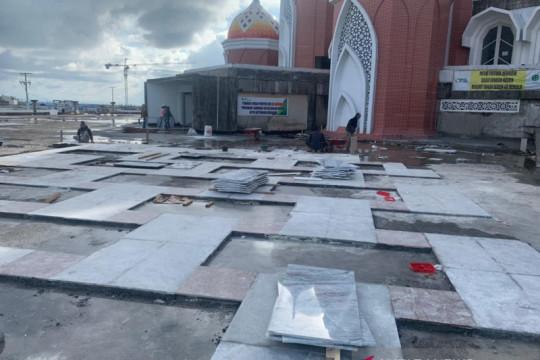 Pengerjaan Masjid 99 Kubah terhambat akibat pekerja terpapar COVID-19