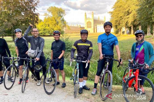 WNI di Inggris galang dana melalui Ride for Indonesia