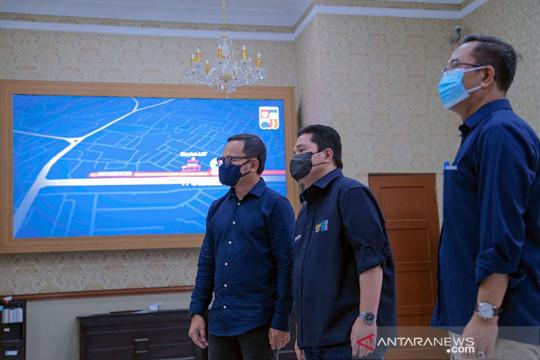 Erick Thohir dukung Pemkot Bogor bangun trem senilai Rp1,6 triliun
