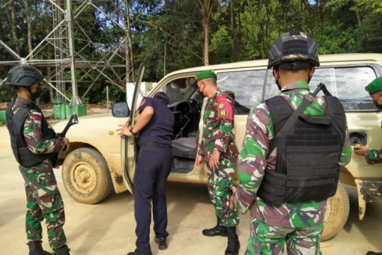 Satgas Pamtas gagalkan penyelundupan mobil asal Malaysia