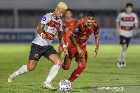 Liga 1: Madura United FC bermain imbang 1-1 lawan PSM Makassar