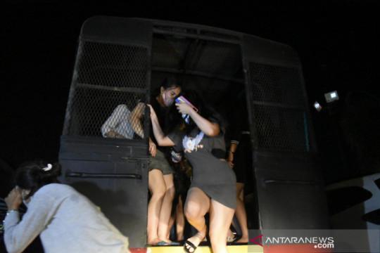 Polisi amankan puluhan remaja pengguna narkoba di klub malam Palembang