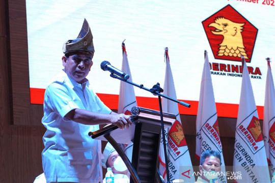 Muzani minta kader Gerindra jadi penjaga ideologi Pancasila