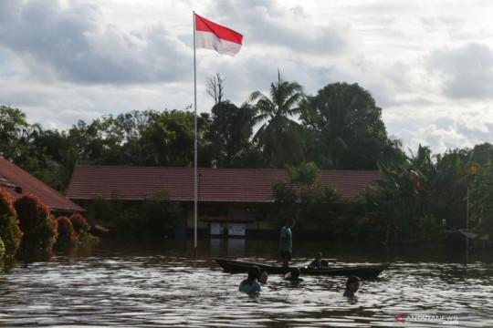 Bencana hidrometeorologi basah masih mendominasi kejadian di Indonesia