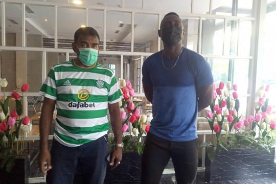 Pemain naturalisasi Mamadou Hady Barry bergabung ke PSMS