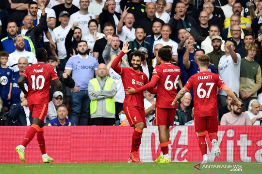 Liverpool libas Leeds United 3-0