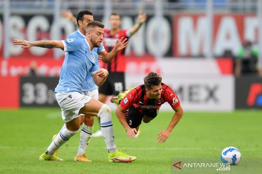 AC Milan kalahkan Lazio, Ibrahimovic cetak gol usai absen empat bulan
