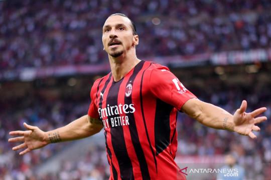 Ibrahimovic dipastikan absen ketika AC Milan hadapi Liverpool