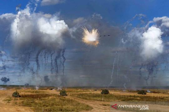 Latihan militer gabungan Rusia - Belarusia