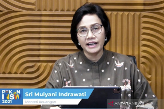 Sri Mulyani sebut integrasi data kunci ciptakan ekonomi maju