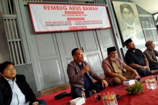 Hery Haryanto Azumi: Politik elite tak boleh meninggalkan arus bawah