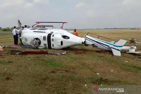Polisi sebut masalah teknis penyebab helikopter jatuh di Tangerang