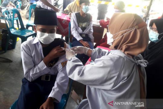 BIN vaksinasi 1.500 pelajar-santri Ponpes Baitussalam Prambanan