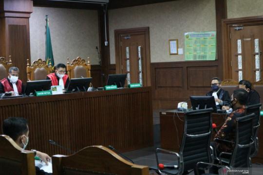 Eks penyidik KPK Stepanus Robin didakwa terima suap Rp11,5 miliar