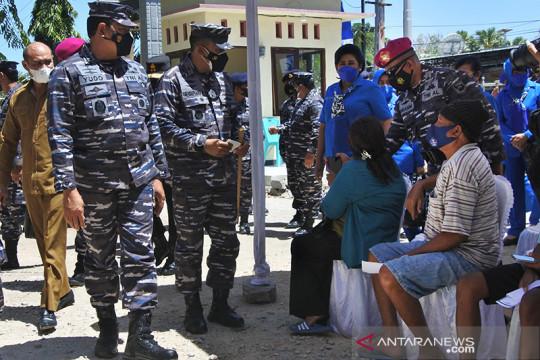 Kasal : TNI AL sudah vaksin 1 juta orang di Indonesia