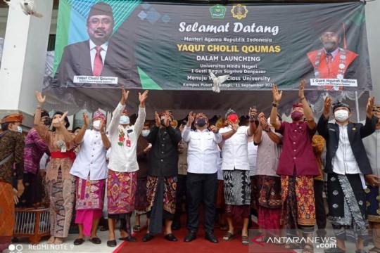 Menag dan Gubernur Bali hadiri peluncuran Universitas Hindu Negeri