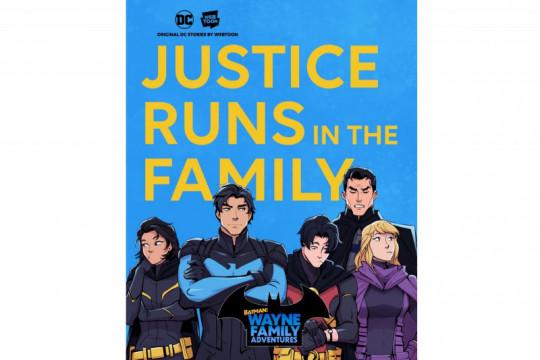 DC Comics dan Naver rilis serial Batman di Webtoon