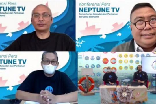 KKP - Telkom luncurkan Neptune TV, kanal sektor bahari RI