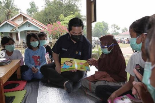 Menteri Erick berharap program CSR BUMN fokus pada tiga hal