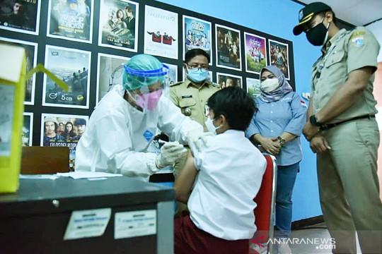 99,47 persen pelajar di Jakarta Timur telah tervaksinasi COVID-19