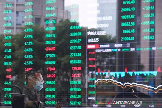 Saham Asia ikuti Wall Street lebih tinggi, dolar menguat terhadap yen