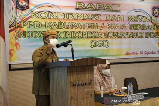 Kemendagri pilih Provinsi Gorontalo jadi percontohan evaluasi IGI