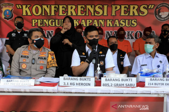 Pemkot Medan upayakan mendirikan tempat rehabilitasi narkoba