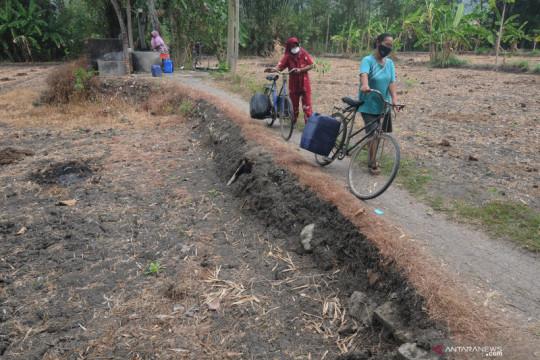 Kesulitan air bersih di Klaten