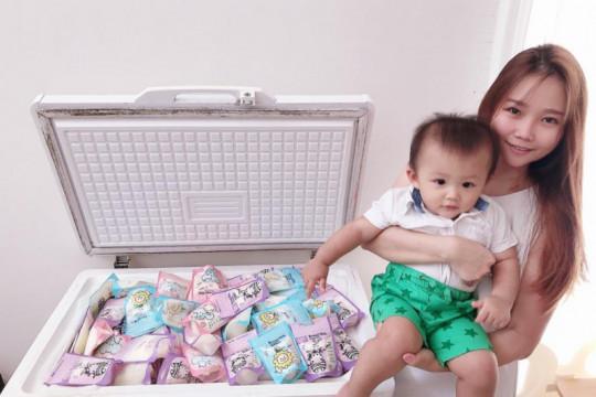 Mama muda rajin donarkan ASI-nya di Panti Asuhan Surabaya