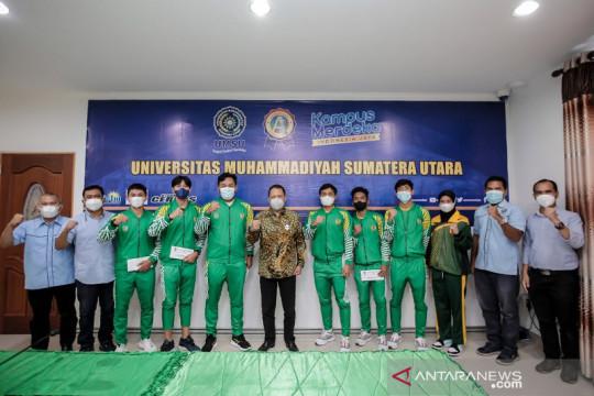 Tujuh atlet mahasiswa UMSU perkuat Sumut di PON Papua