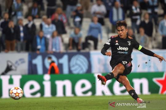Paulo Dybala senang bisa kembali cetak gol di Liga Champions