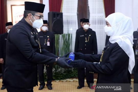 Gubernur Jatim lantik 16 kepala OPD di Gedung Negara Grahadi