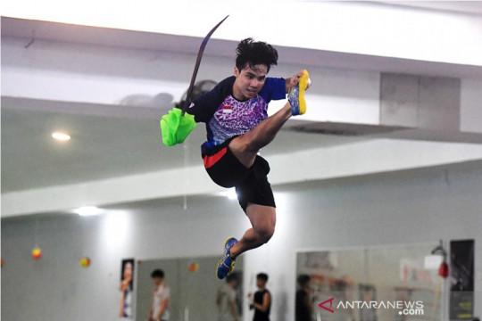 Seraf Naro, juara dunia wushu yang bertekad raih emas dalam debut PON