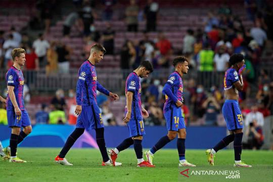 Liga Champions : Barcelona tumbang di kandang 0-3