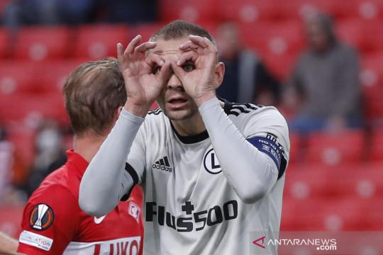 Liga Eropa: Spartak Moscow vs Legia Warsaw