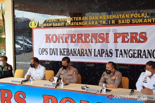 14 jenazah korban kebakaran Lapas Tangerang berhasil diidentifikasi