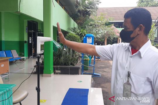 SMA Negeri  46 Jakarta siap lanjutkan PTM terbatas