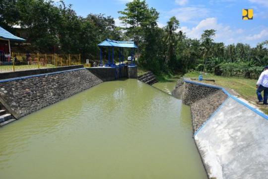 Kementerian PUPR tingkatkan Sistem Irigasi Way Tebu di Lampung
